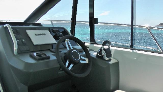Jeanneau-Leader36-Motor-Boat-Trogir-6pax