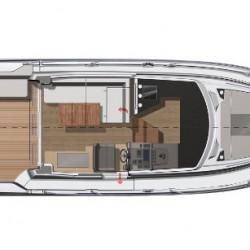 Jeanneau-NC33-Motor-Boat-Trogir-6pax