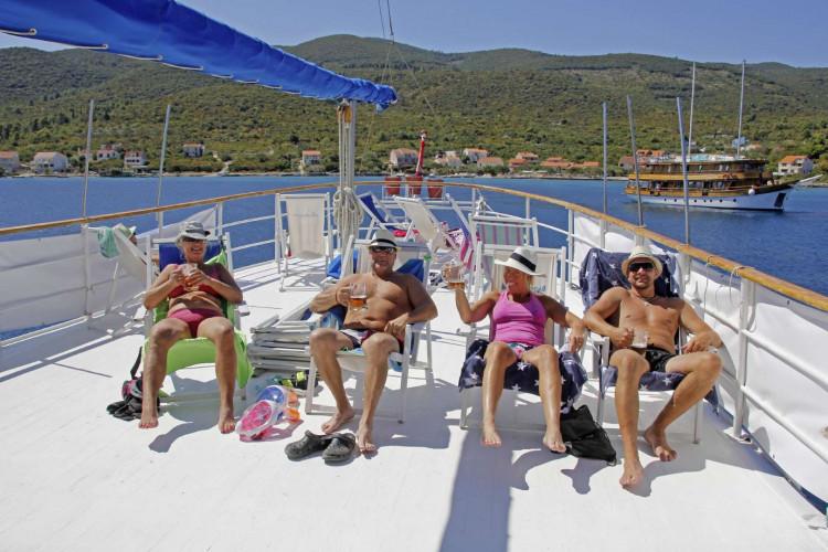 Aneta 15 cabins 32 pax Trogir 23