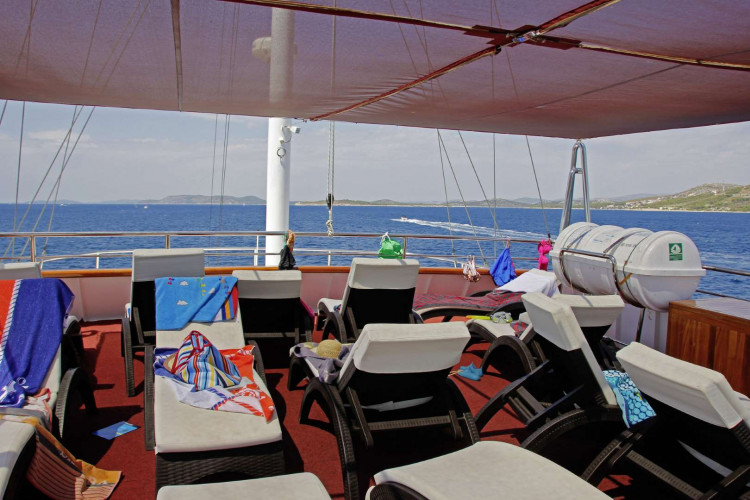 Carpe Diem 17 cabins 35 pax Zadar 17