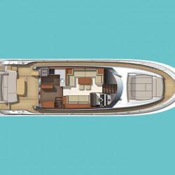 Prestige 550S Atonika 7pax Sibenik motor yacht 1