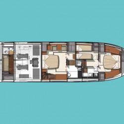 Prestige 550S Atonika 7pax Sibenik motor yacht 3